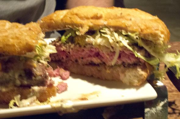 Jasper's burger
