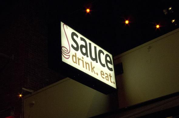 Sauce sign