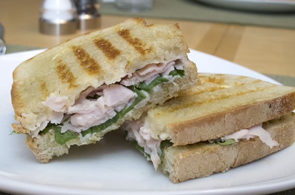 The Three Bite Rule - Turkey Panini