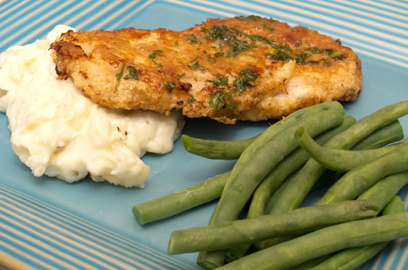 The Three Bite Rule - Chicken Francese