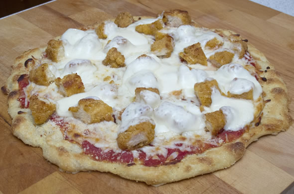 The Three Bite Rule - Chicken Parm Pizza