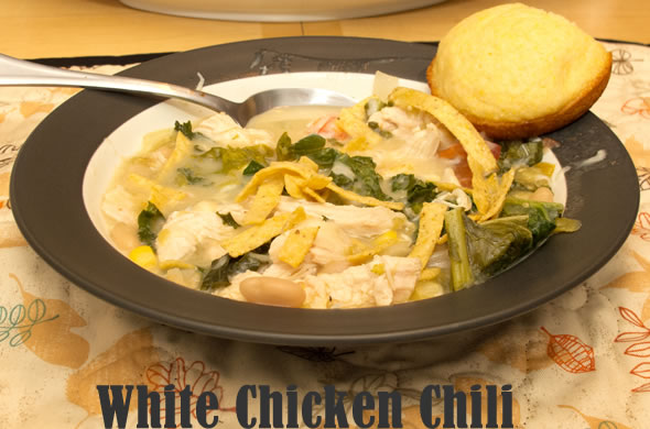 The Three Bite Rule - White Chicken Chili