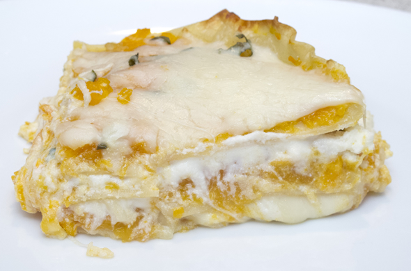 The Three Bite Rule - Butternut Squash Lasagna
