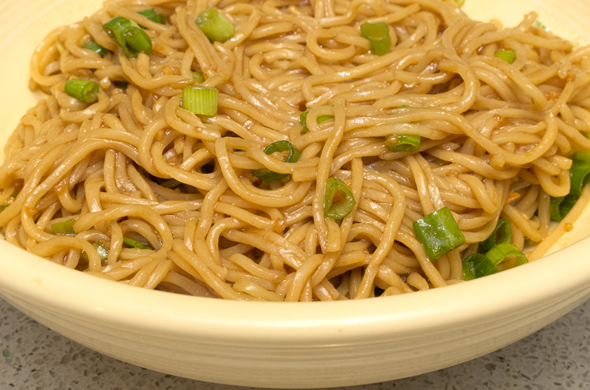 The Three Bite Rule - Sesame Noodles