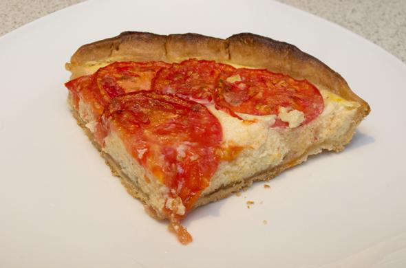 Three Bite Rule - Tomato Ricotta Pie