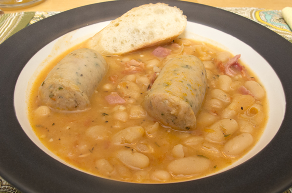 The Three Bite Rule - White Bean Cassoulet