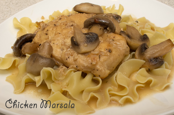 The Three Bite Rule - Chicken Marsala