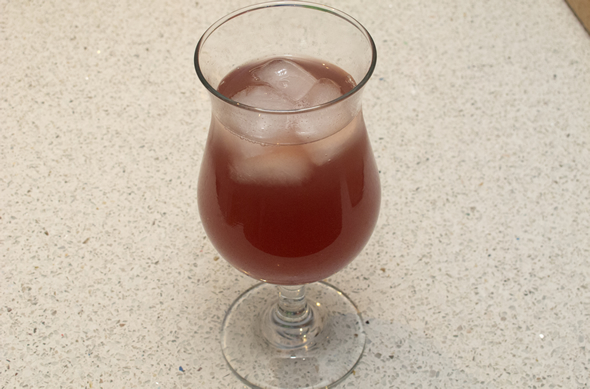 The Three Bite Rule - Cranberry Soda Cocktail