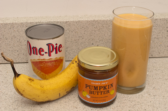 The Three Bite Rule - Pumpkin Smoothie