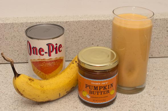 The Three Bite Rule - Pumpkin Smoothie