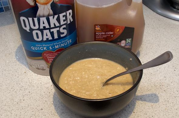 The Three Bite Rule - Apple Cider Oatmeal