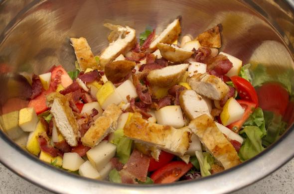 The Three Bite Rule - Wintry Salad