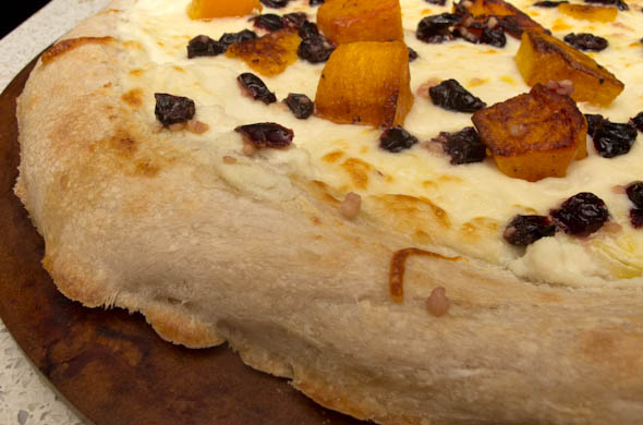 The Three Bite Rule - Butternut Squash Cranberry Pizza