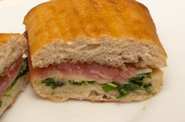 The Three Bite Rule - Fig & Prosciutto Panini
