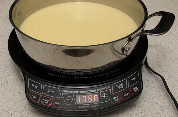 The Three Bite Rule - Cheese Fondue