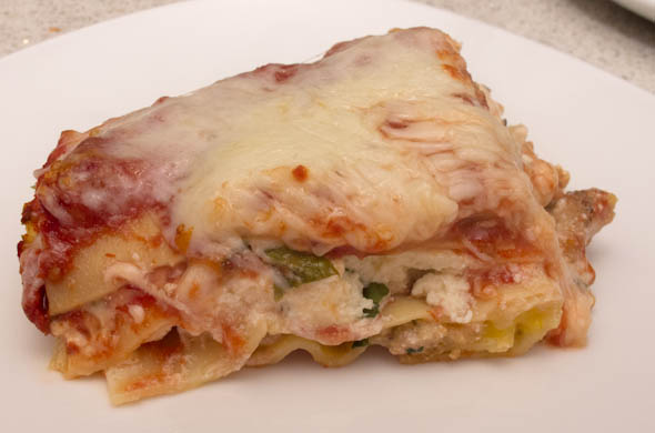 The Three Bite Rule - Traditional Lasagna