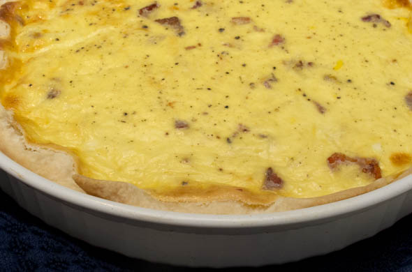The Three Bite Rule - Quiche Lorraine