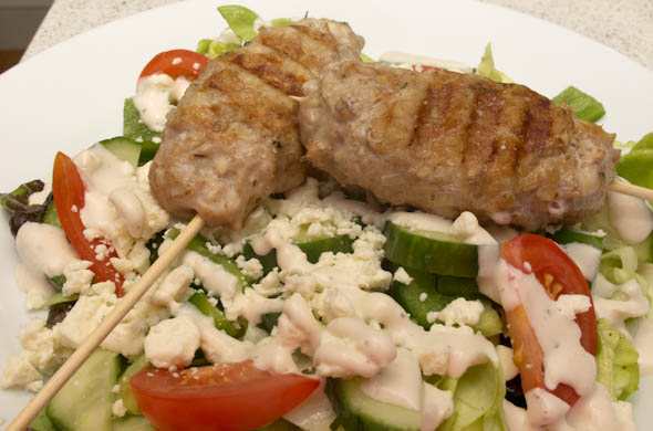 The Three Bite Rule - Greek Kofta