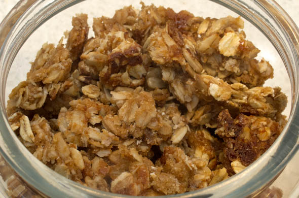 The Three Bite Rule - Maple Peanut Butter Granola
