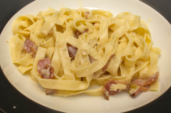 The Three Bite Rule - Pasta Carbonara