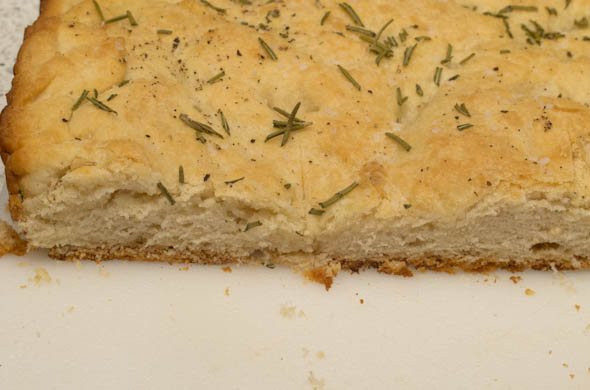 Rosemary Focaccia - The Three Bite Rule