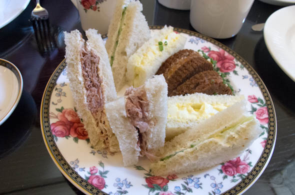 The Three Bite Rule - Afternoon Tea