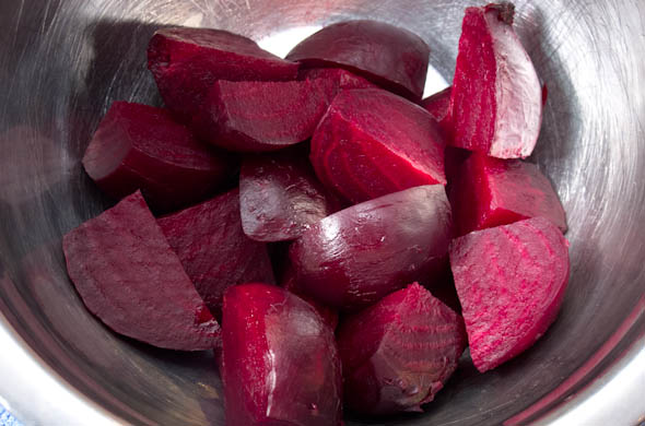 Roasted Beets & Potatoes - The Three Bite Rule