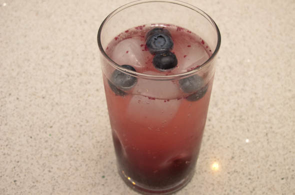 The Three Bite Rule - Blueberry Lemonade