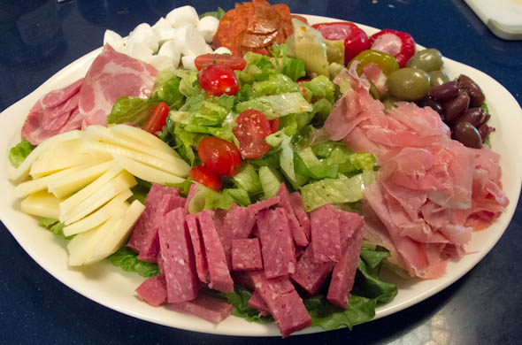 Antipasto - The Three Bite Rule
