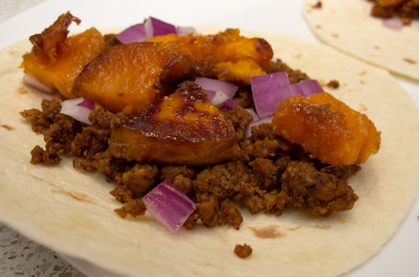 The Three Bite Rule - Chorizo Taco