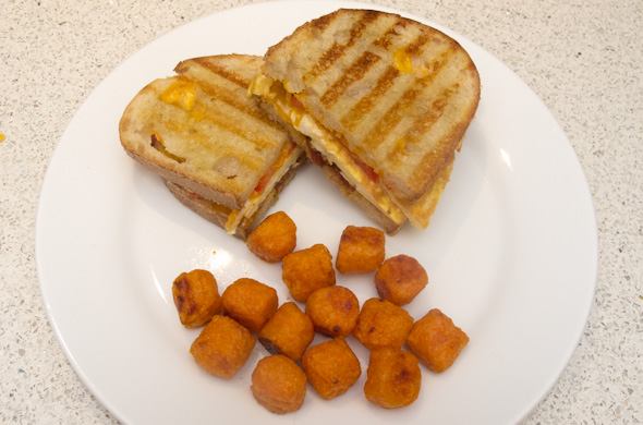 The Three Bite Rule - Breakfast Panini
