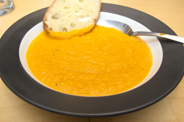 The Three Bite Rule - Butternut Squash & Apple Soup