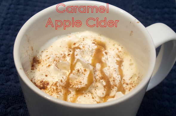 The Three Bite Rule - Caramel Apple Cider
