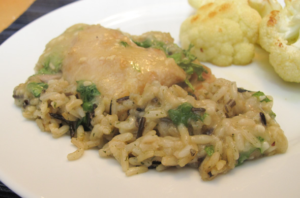 The Three Bite Rule - Chicken & Wild Rice