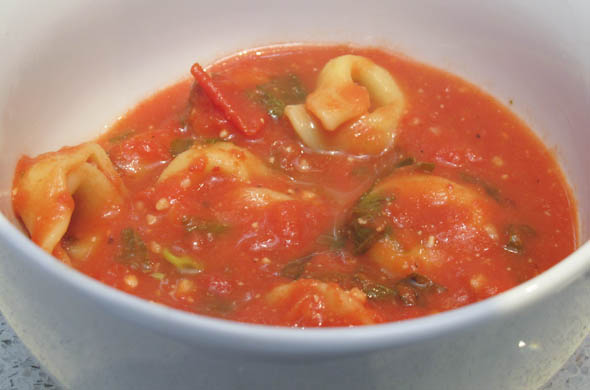 The Three Bite Rule - Tomato Tortellini Soup