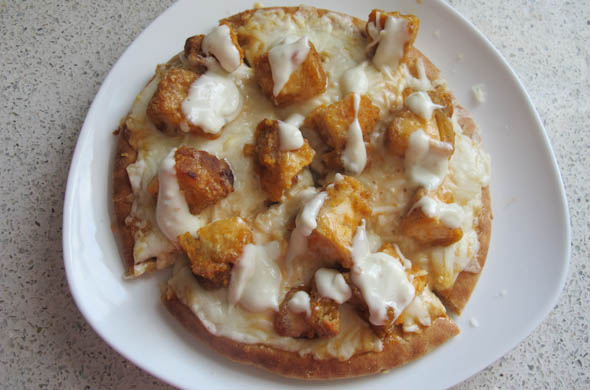 The Three Bite Rule - Buffalo Chicken Pizza