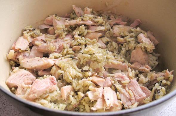 The Three Bite Rule - Chicken & Wild Rice Soup