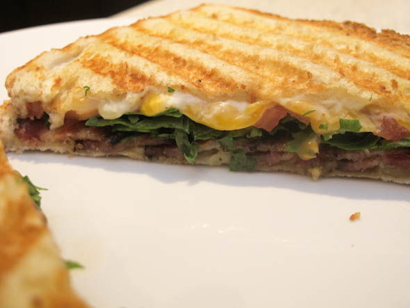 The Three Bite Rule - BLT Panini