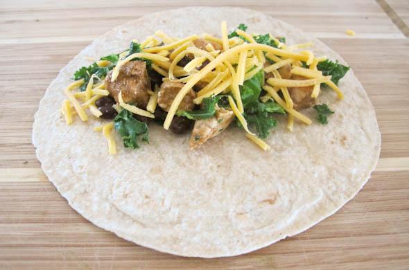 Chicken & Kale Enchiladas - The Three Bite Rule