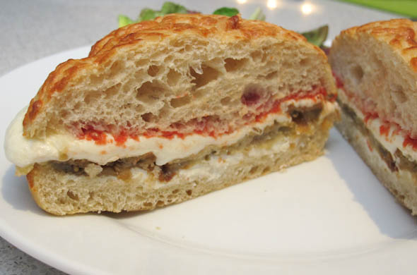 The Three Bite Rule - Eggplant Parm Sandwiches