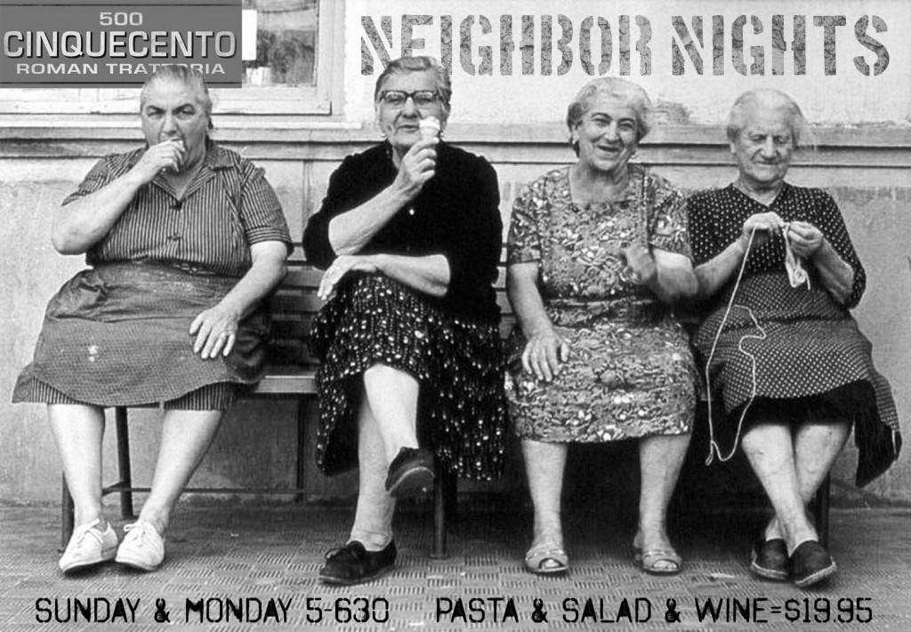 neighbor nights