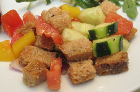 The Three Bite Rule - Panzanella