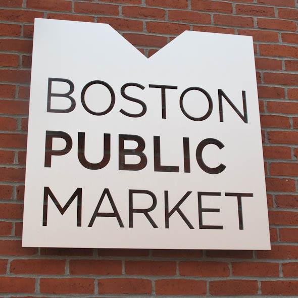 Boston Public Market Sign