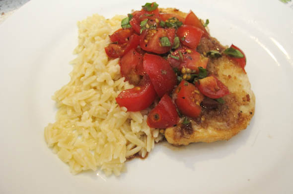 Tomato Basil Chicken Cutlets - The Three Bite Rule