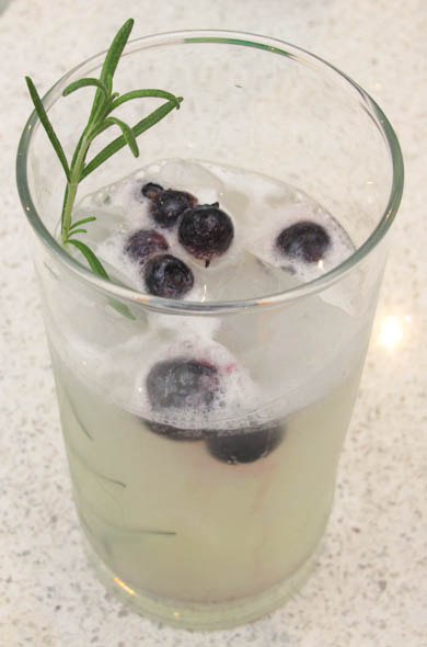 The Three Bite Rule - Rosemary Hard Lemonade