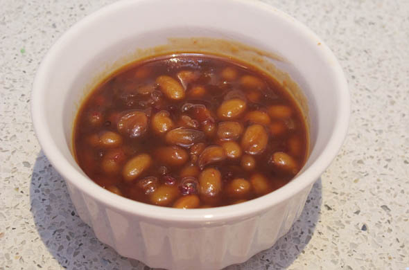 The Three Bite Rule - Honey Chipotle Baked Beans