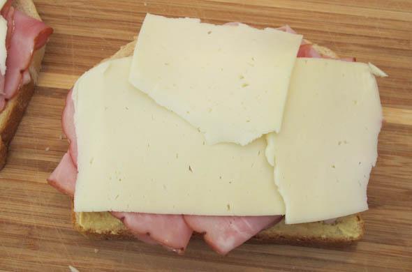 The Three Bite Rule - Ham & Havardi Melt