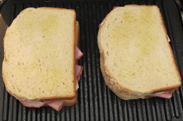 The Three Bite Rule - Ham & Havarti Melt