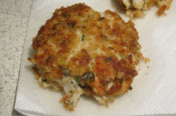 The Three Bite Rule - Lobster Cakes