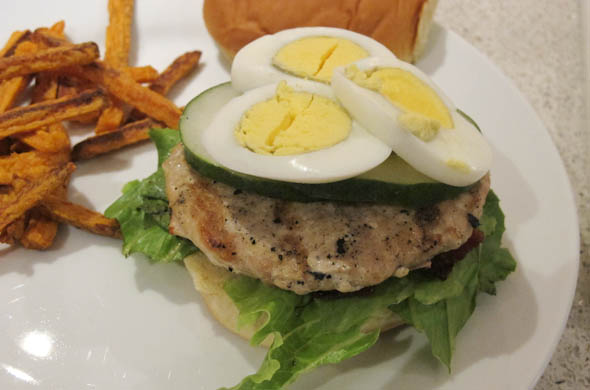 The Three Bite Rule - Cobb Salad Burger